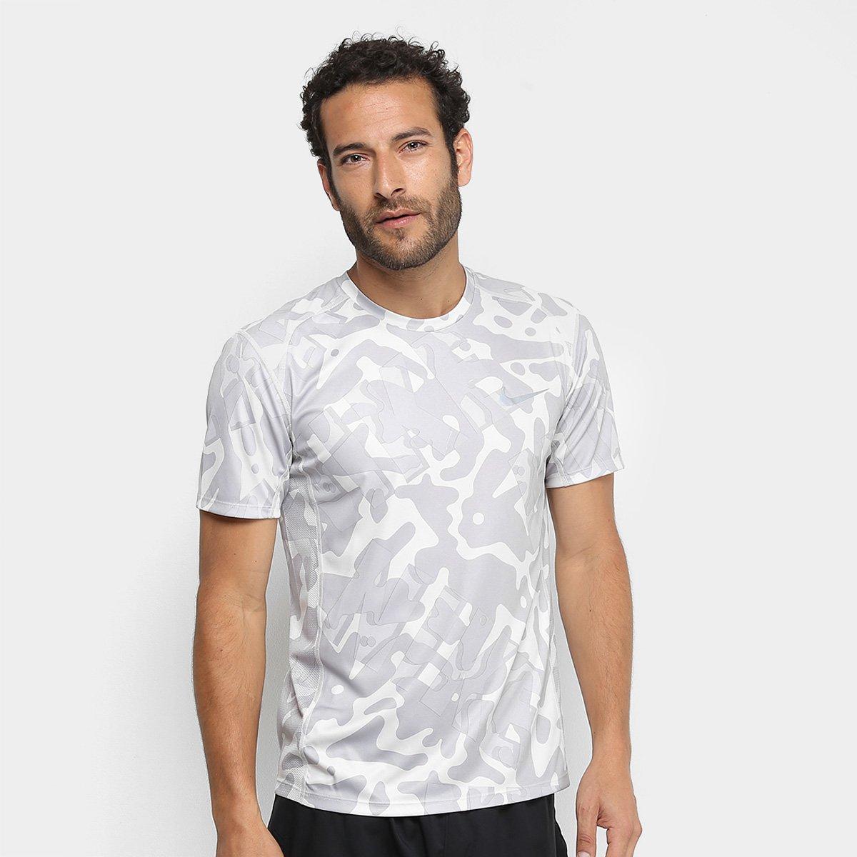 4fc52b38fc92db Camiseta Nike DRI-FIT Miler Pr Masculina | Loja do Inter