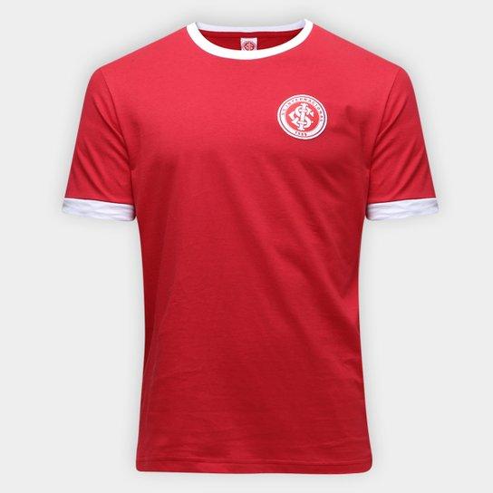 Camiseta Retrô Inter Masculina - Vermelho