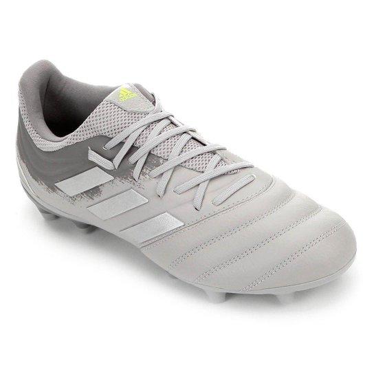 Chuteira Campo Adidas Copa 20 3 FG - Cinza