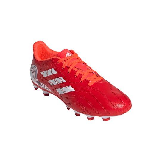 Chuteira Campo Adidas Copa Sense 4 - Vermelho+Branco