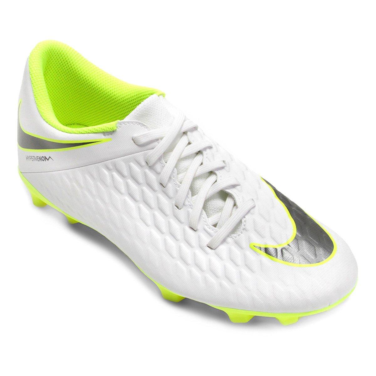 5cc62a8fbf Chuteira Campo Nike Hypervenom Phantom 3 Club FG - Compre Agora ...