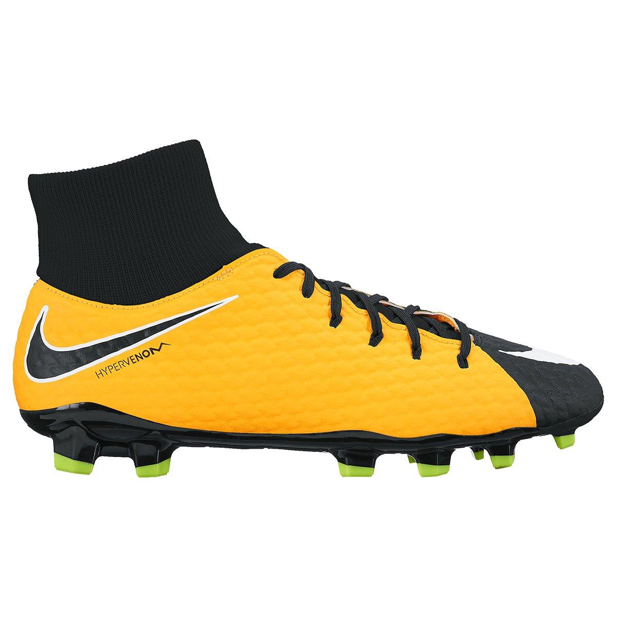 Chuteira Campo Nike Hypervenom Phelon 3 DF FG - Compre Agora  89187338eb88f