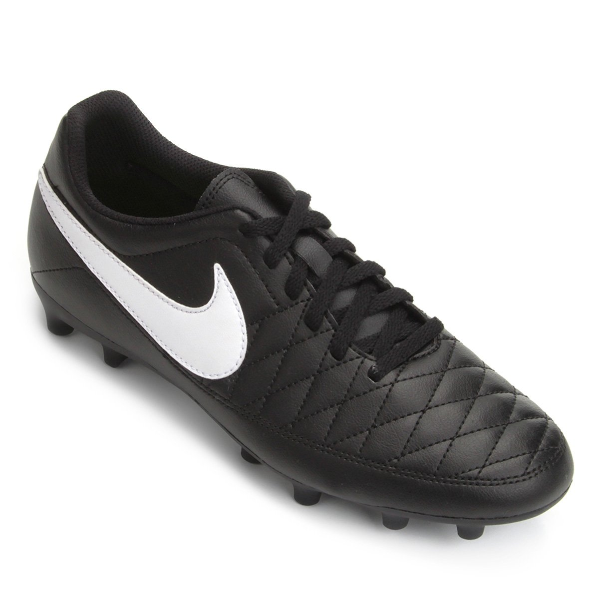 e8c0716708 Chuteira Campo Nike Majestry FG - Preto
