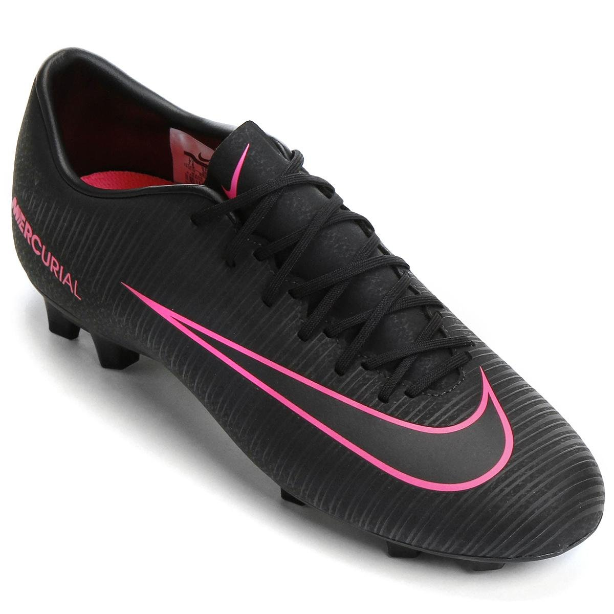 Chuteira Campo Nike Mercurial Victory 6 FG - Compre Agora  322eb75193eac
