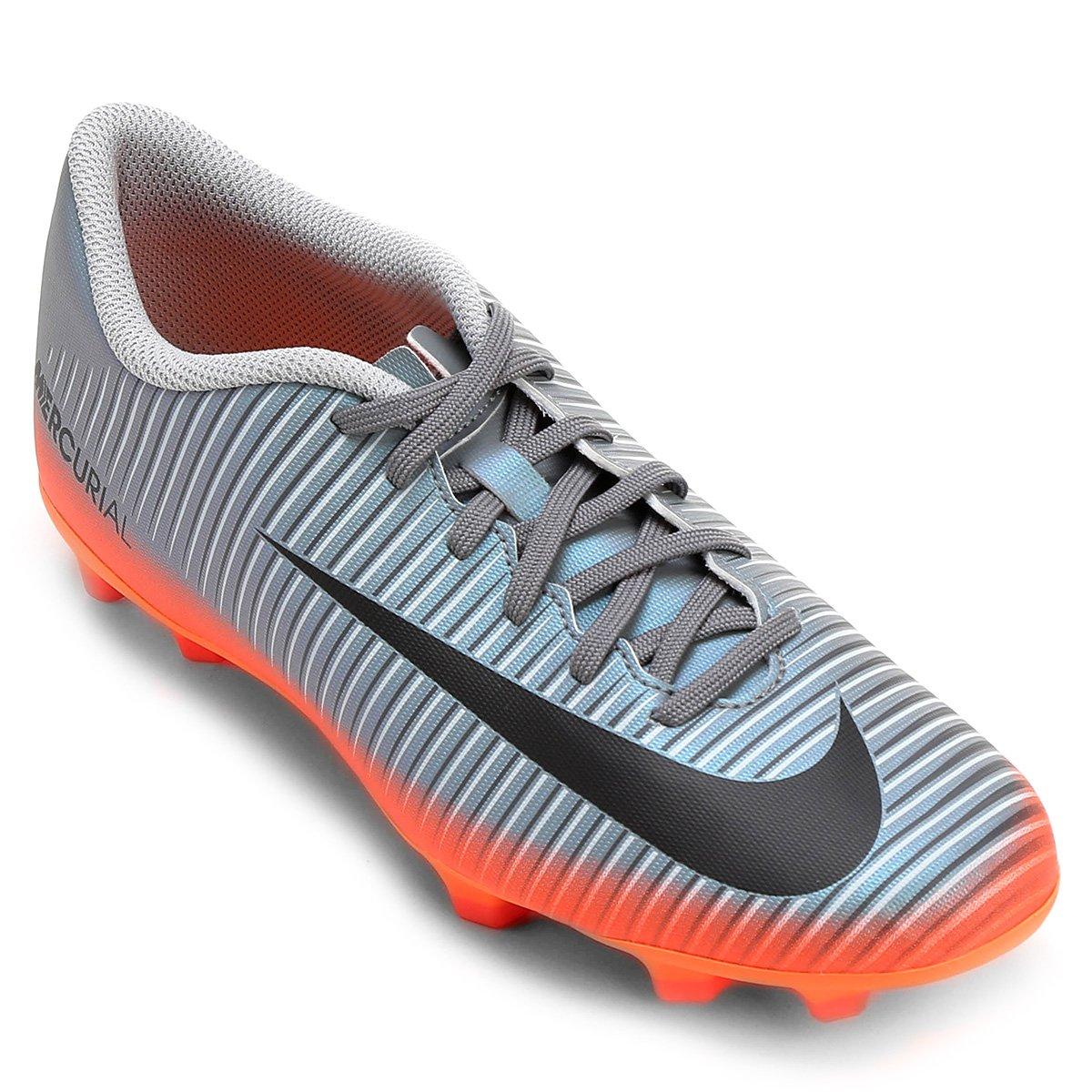 3e92fc7417 Chuteira Campo Nike Mercurial Vortex 3 CR7 FG - Compre Agora