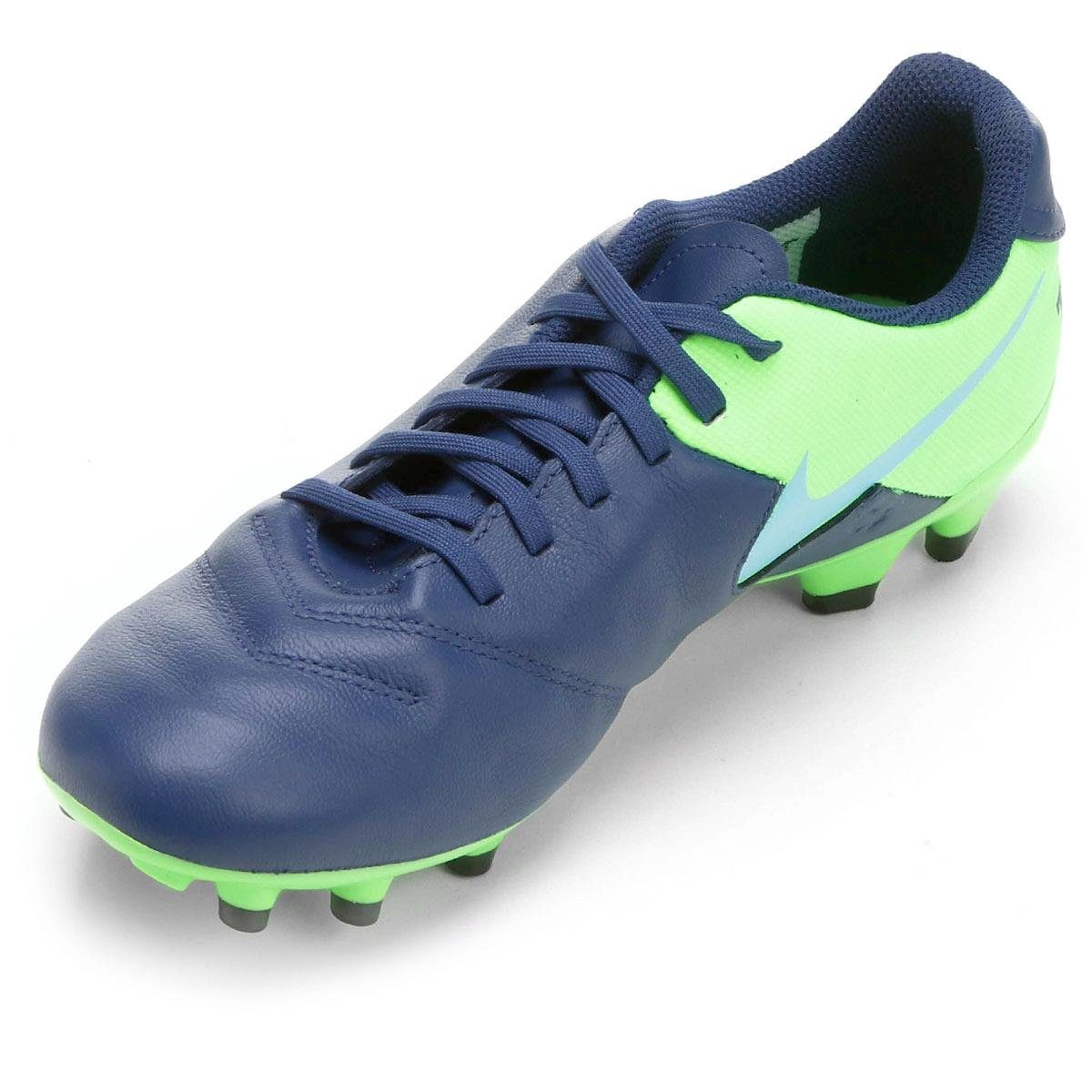 1b583588e4 Chuteira Campo Nike Tiempo Genio 2 Leather FG - Compre Agora