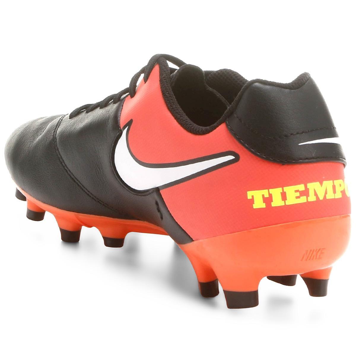Chuteira Campo Nike Tiempo Genio 2 Leather FG - Compre Agora  0a957e0d4bdf5