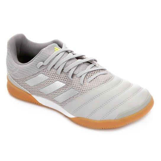 Chuteira Futsal Adidas Copa 20 3 IN - Cinza