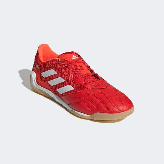 Chuteira Futsal Adidas Copa Sense 3 - Vermelho+Branco