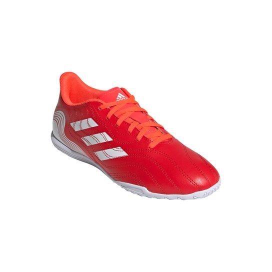 Chuteira Futsal Adidas Copa Sense 4 - Vermelho+Branco