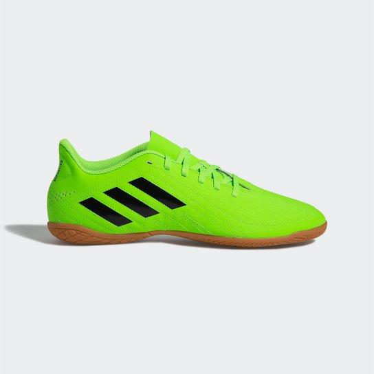 Chuteira Futsal Adidas Deportivo - Preto+verde