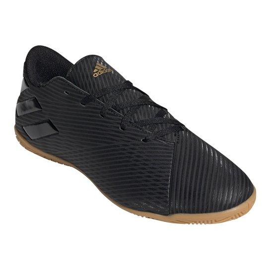 Chuteira Futsal Adidas Nemeziz 19 4 IN - Preto
