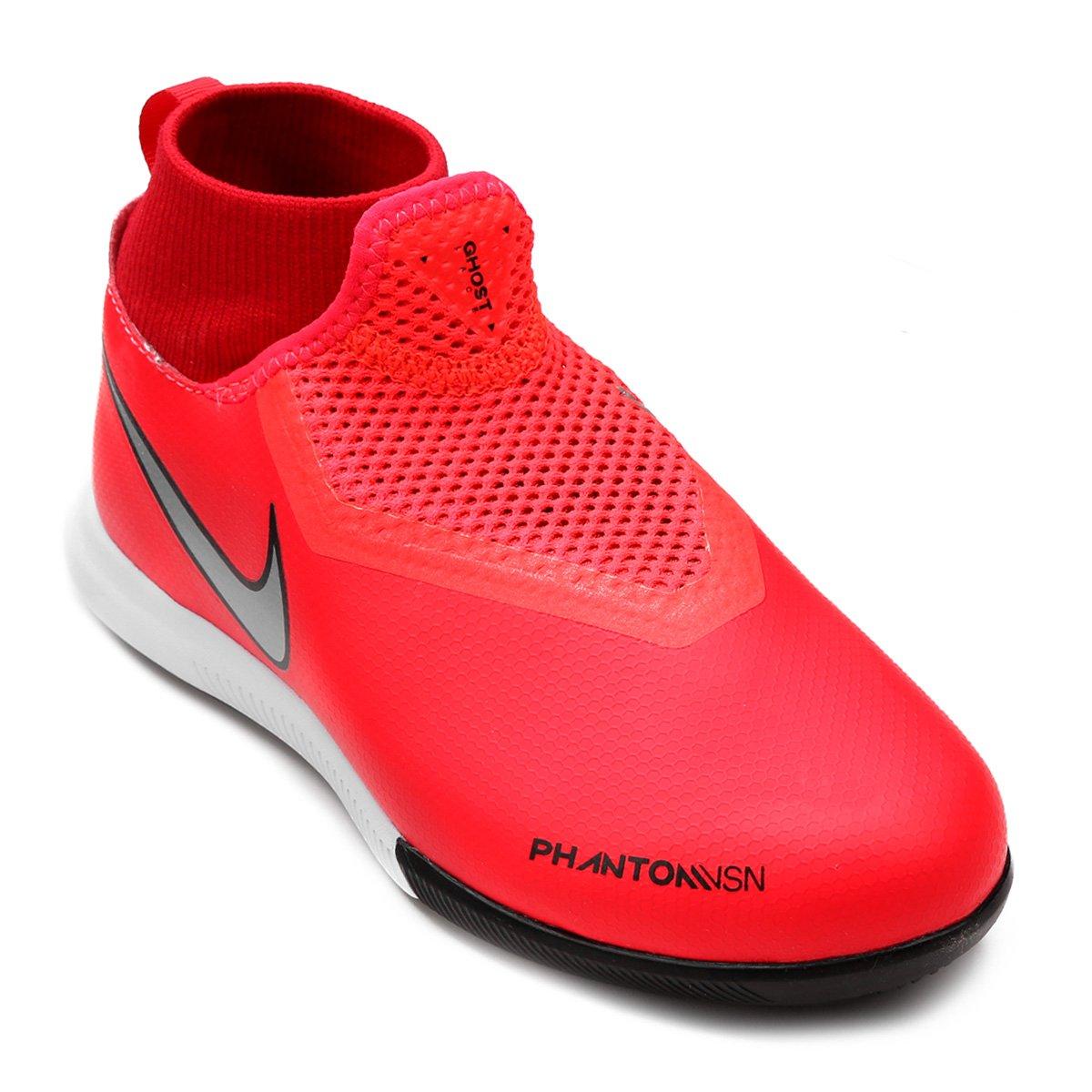 05294bc832 Chuteira Futsal Infantil Nike Phantom Vision Academy DF IC - Compre ...