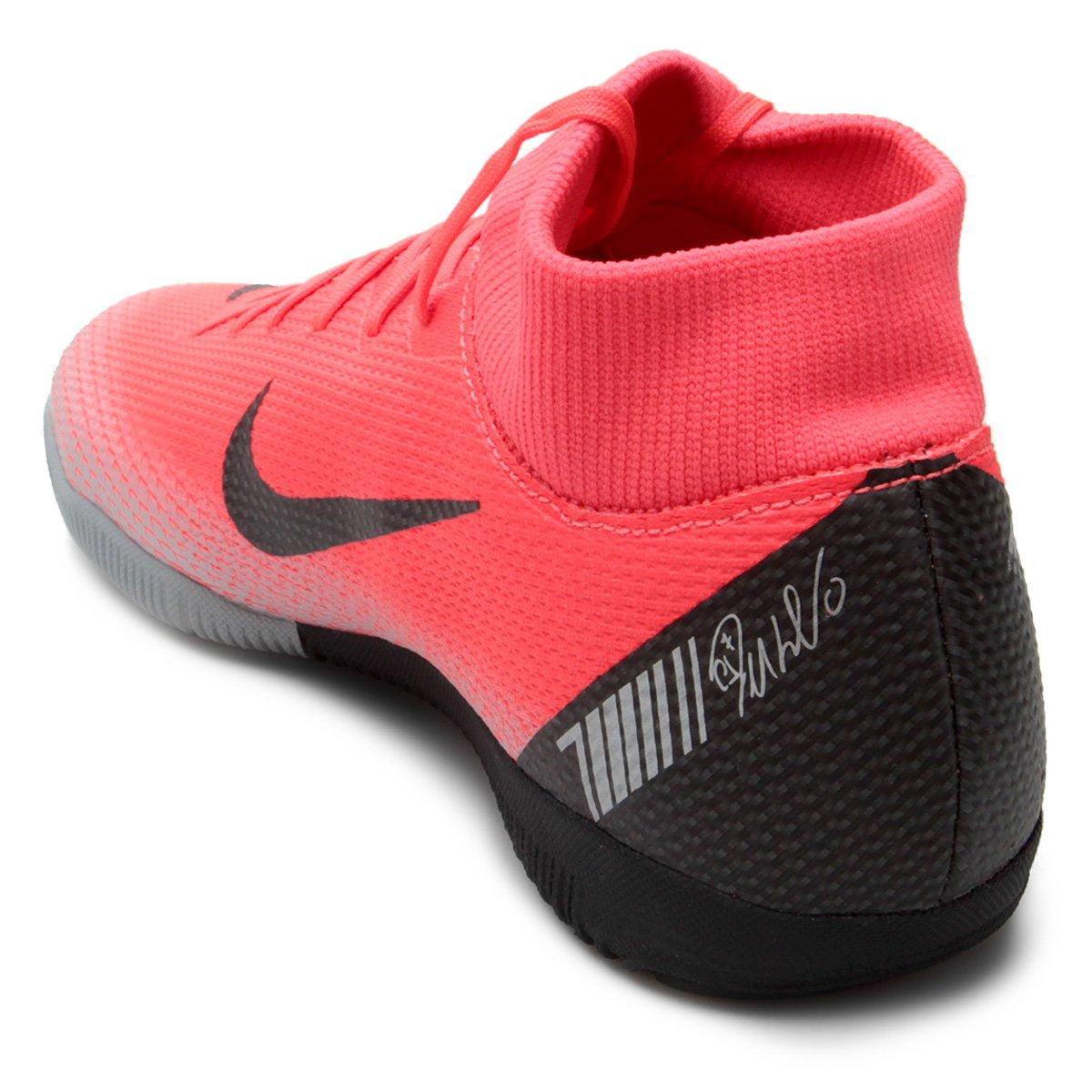 a1641cbb8a Chuteira Futsal Nike Mercurial Superfly 6 Academy CR7 IC - Vermelho ...