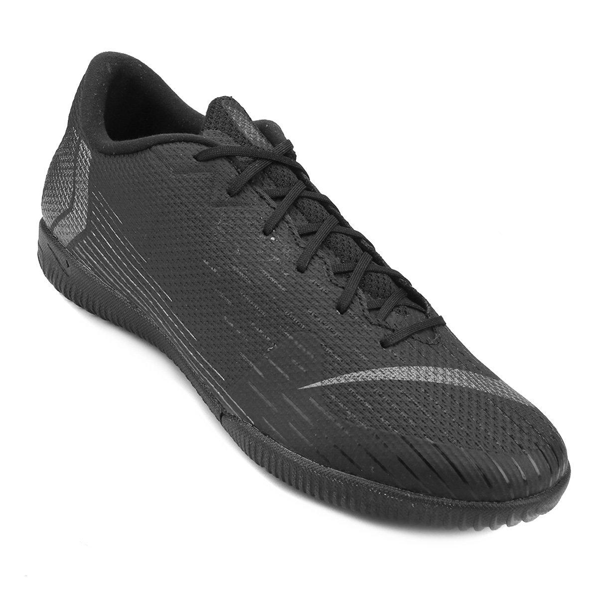 Chuteira Futsal Nike Mercurial Vapor 12 Academy - Preto - Compre ... 14b0ecb1759da