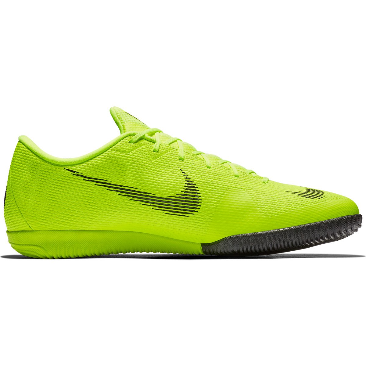 Chuteira Futsal Nike Mercurial Vapor 12 Academy - Verde e Preto ... 8c9d9603c61b9