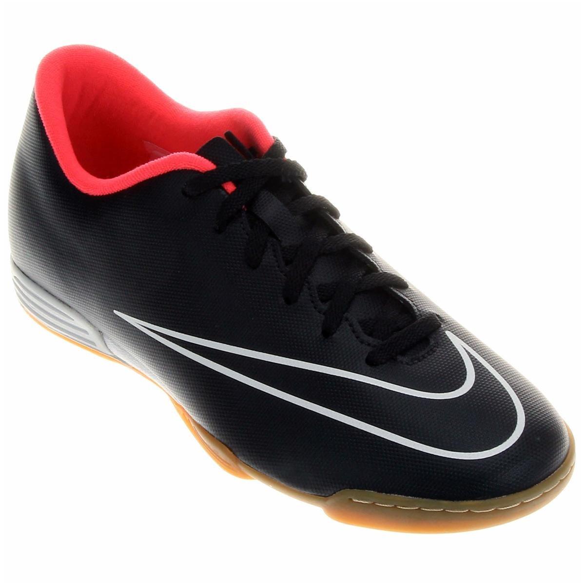 4cda89f0326ae ... cheap chuteira futsal nike mercurial vortex 2 ic masculina preto e rosa  0851f 4da99
