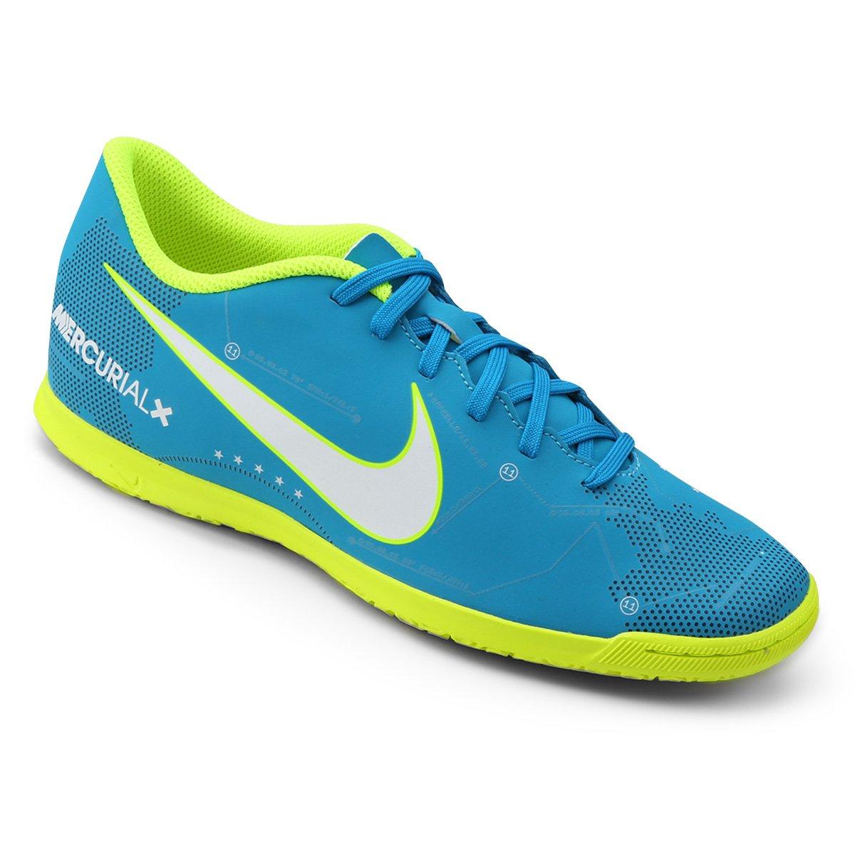 ... greece chuteira futsal nike mercurial vortex 3 neymar jr ic masculina  azul e branco 7c4cf 5c0dd 0a518ebd225c1