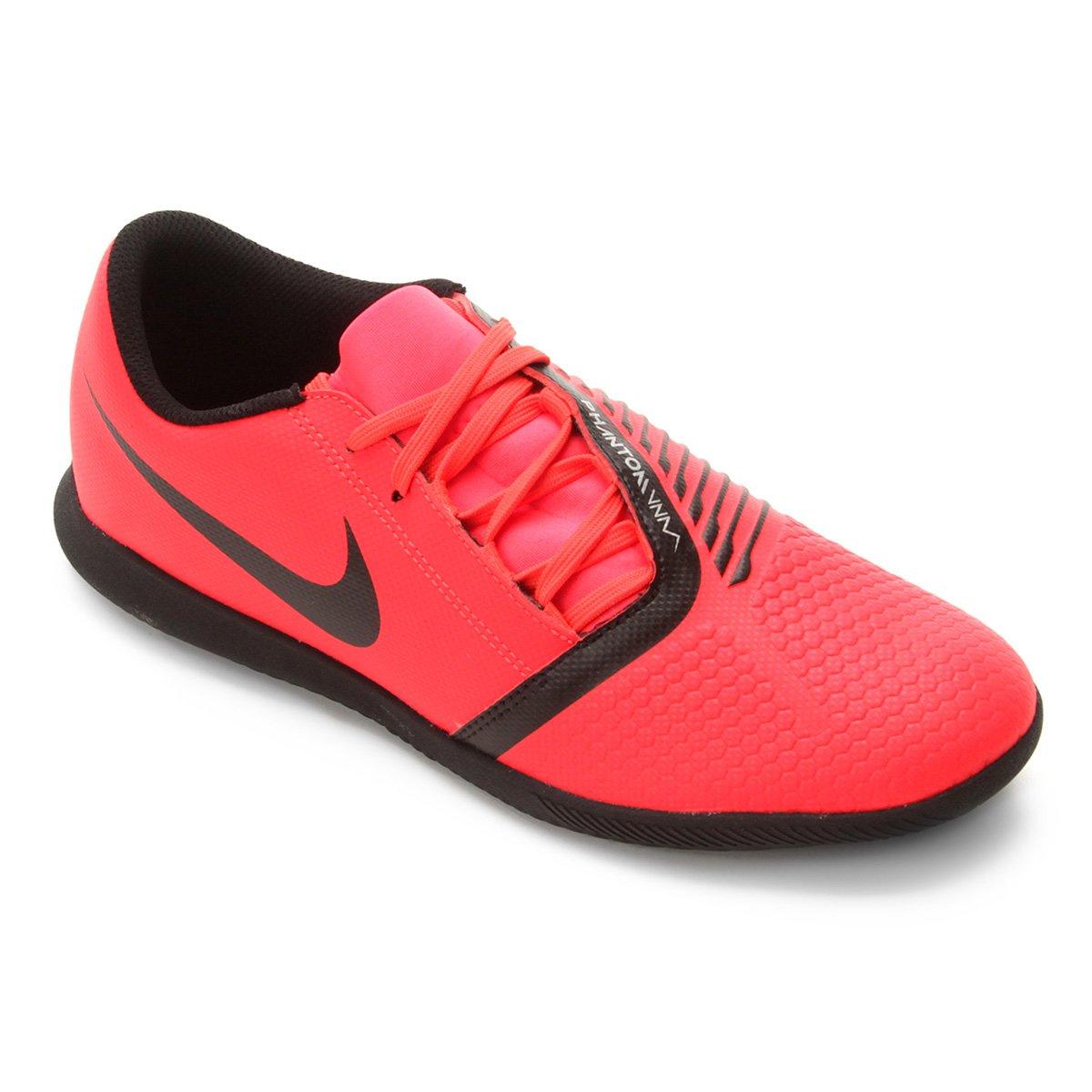 ab35f0325665d Chuteira Futsal Nike Phantom Venom Club IC - Vermelho e Preto - Compre  Agora