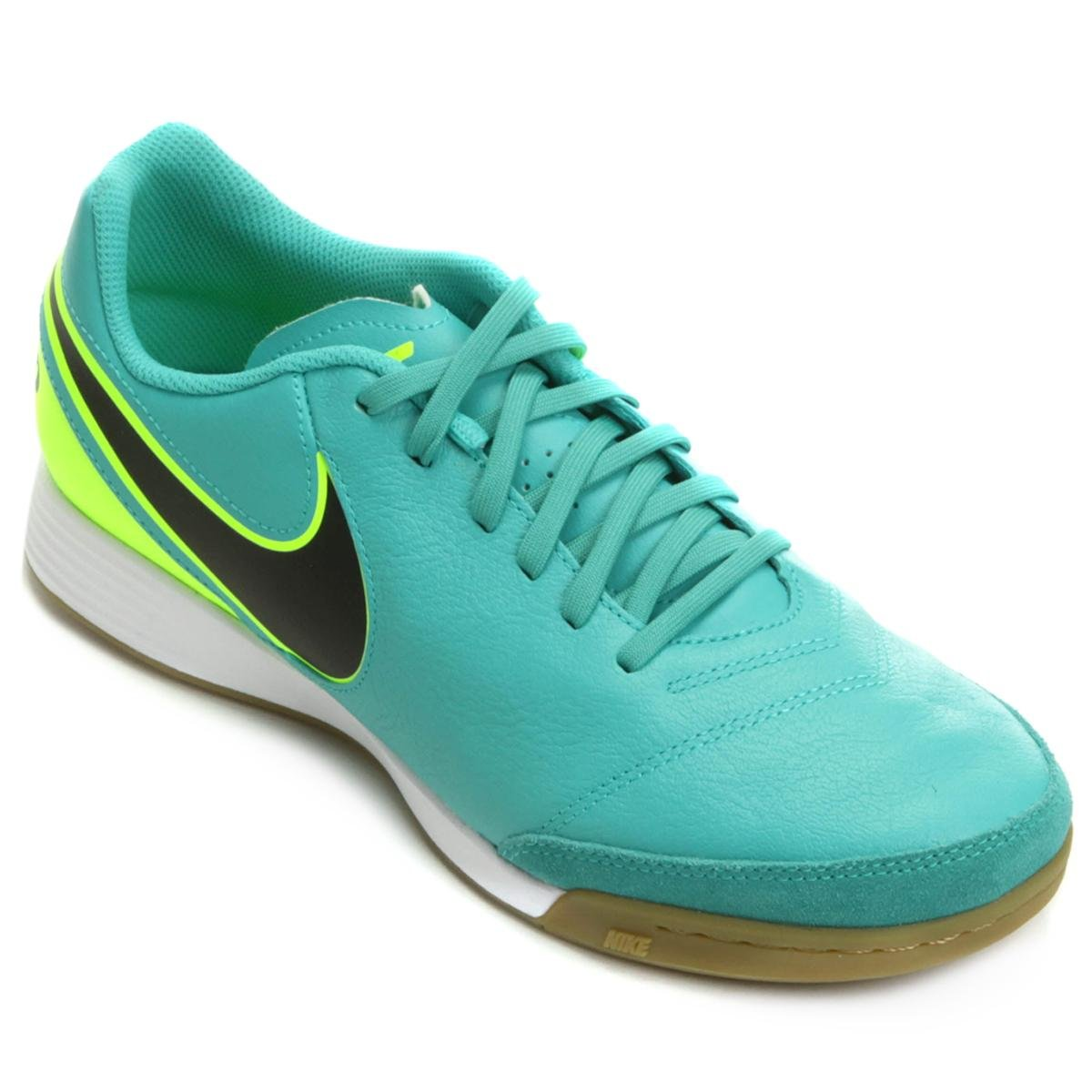 ec209f7fca Chuteira Futsal Nike Tiempo Genio 2 Leather IC Masculina - Compre Agora