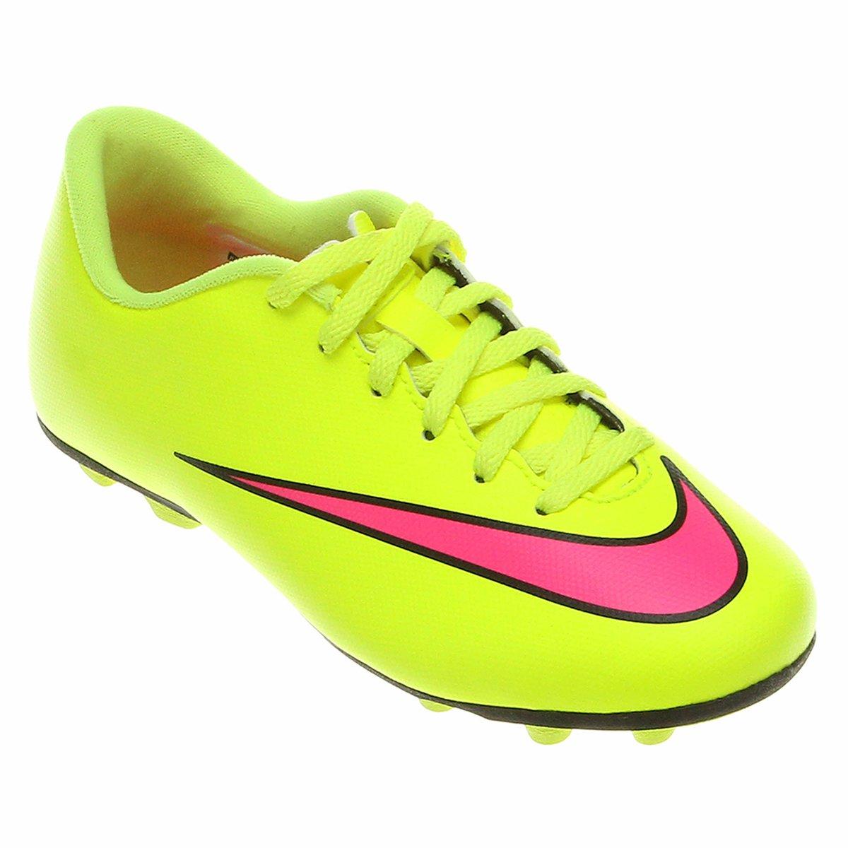 Chuteira Nike Mercurial Vortex 2 FG Campo Infantil - Compre Agora ... 60a86dbfb23e1