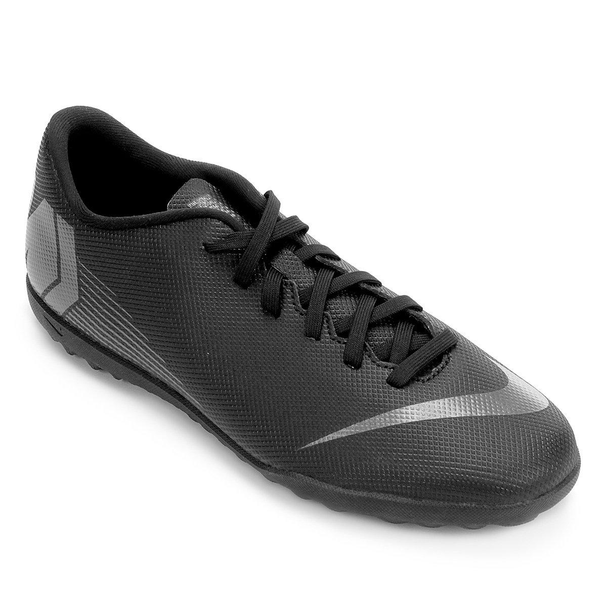 Chuteira Nike Society Mercurial Vapor 12 Club - Preto - Compre Agora ... 01224955b1d11