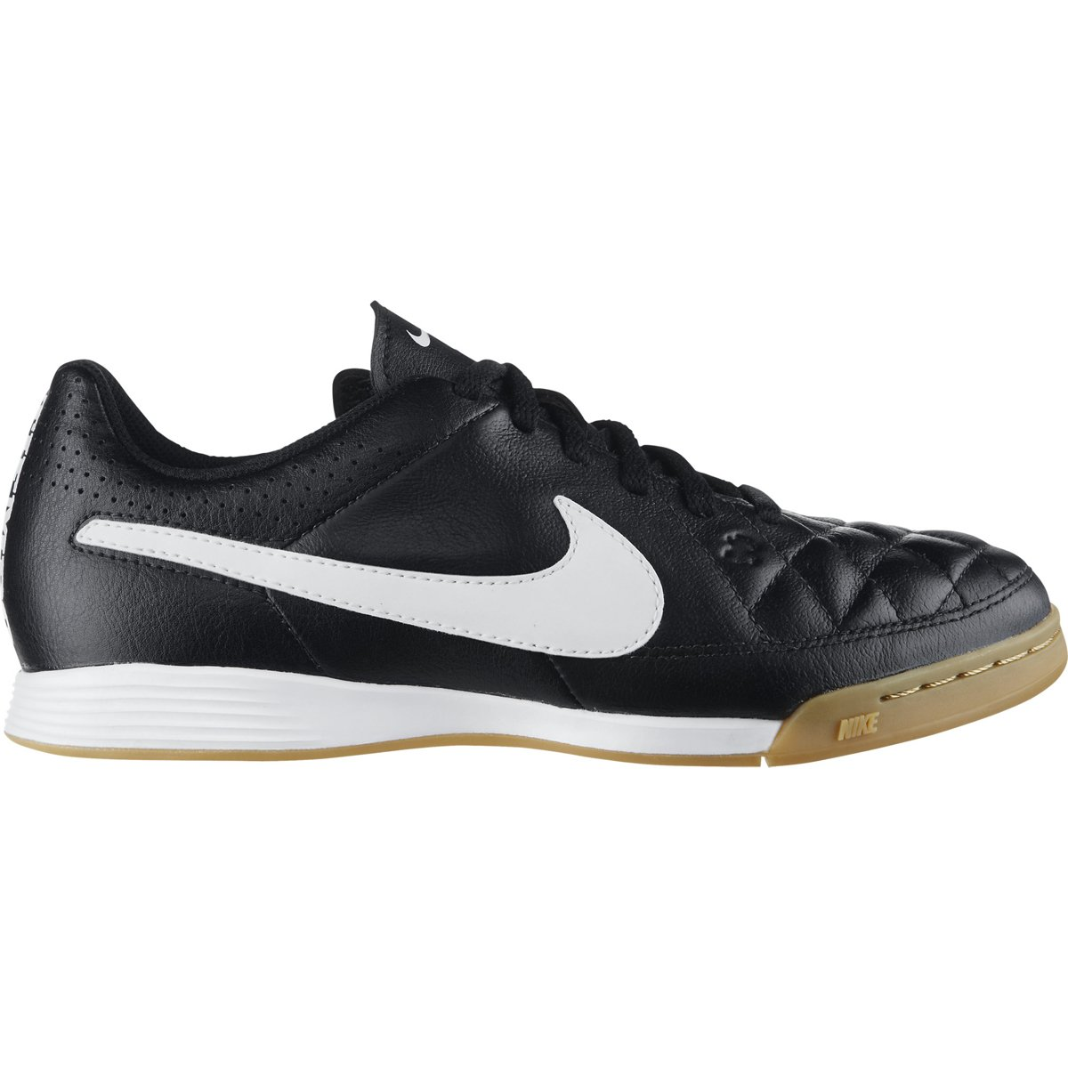 a96079fe1af5d Chuteira Nike Tiempo Gênio Leather IC Futsal Infantil - Compre Agora ...