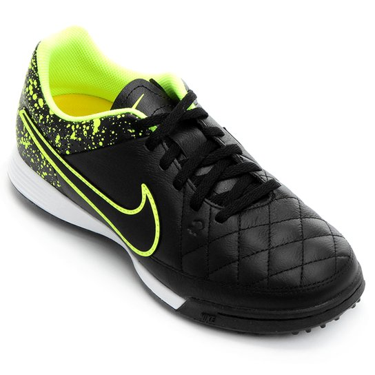 comer monstruo autómata  Chuteira Nike Tiempo Gênio Leather TF Society Infantil | Loja do Inter