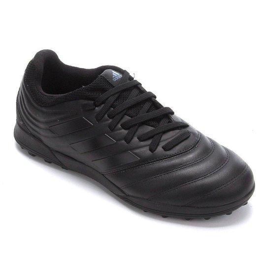 Chuteira Society Adidas Copa 19 3 TF - Preto+Chumbo