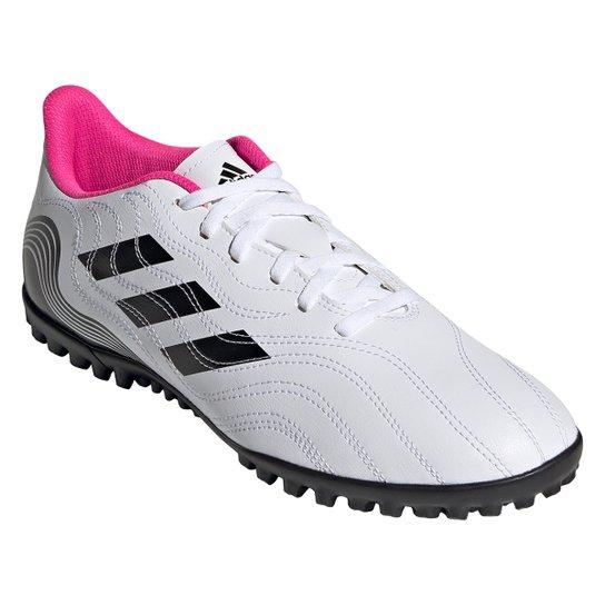 Chuteira Society Adidas Copa Sense 4 - Branco+Preto