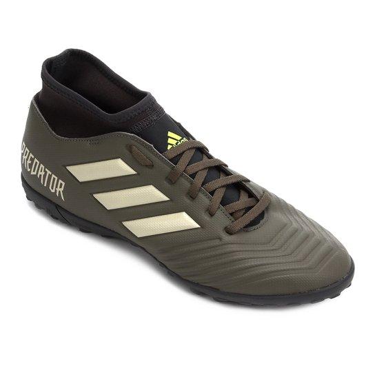 Chuteira Society Adidas Predator 19 4 S TF - Verde