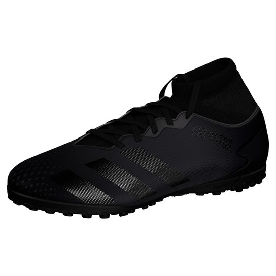 Chuteira Society Adidas Predator 20 4 S TF - Preto