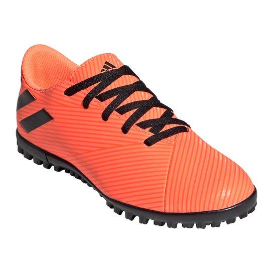 Chuteira Society InfantiL Adidas Nemeziz 19 4 TF - Coral