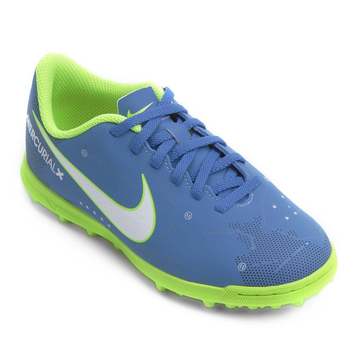 dcbdcfdd96 Chuteira Society Infantil Nike Mercurial Vortex 3 Neymar Jr TF ...