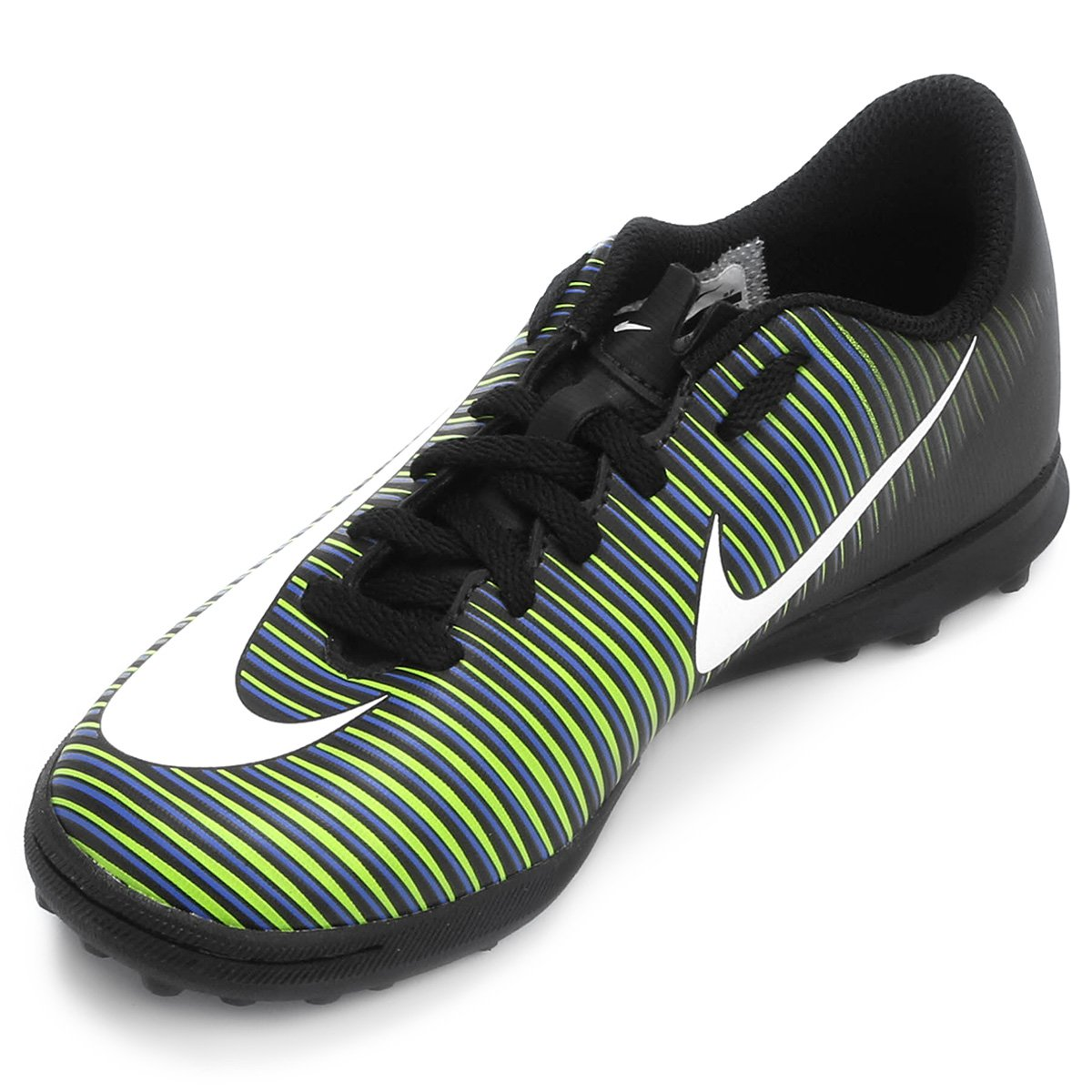 Chuteira Society Infantil Nike Mercurial Vortex 3 TF - Compre Agora ... 4103013eee35c