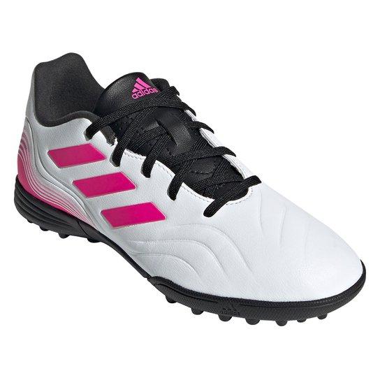 Chuteira Society Juvenil Adidas Copa Sense 3 - Off White