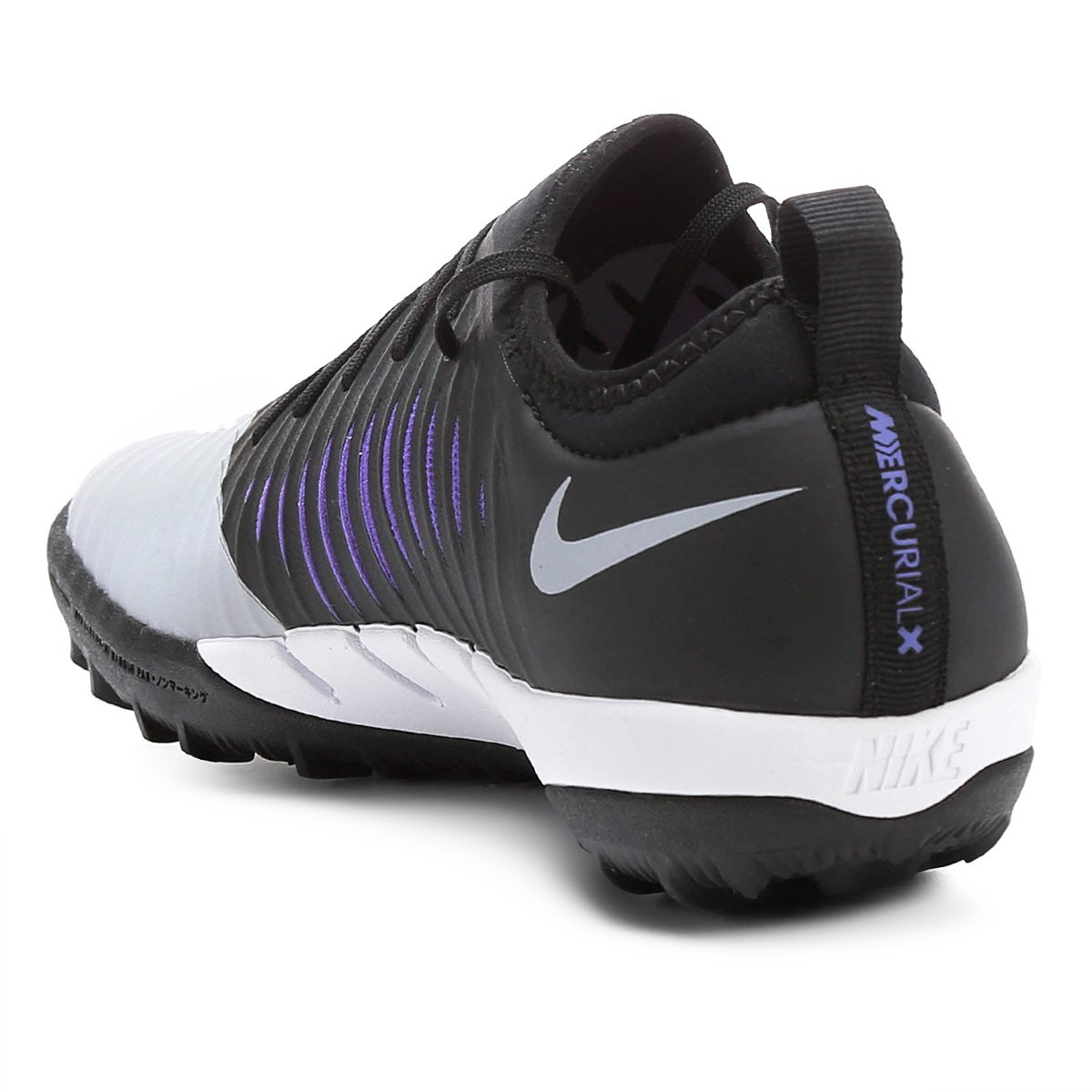 72cd02ba56 Chuteira Society Nike Mercurial Finale 2 TF - Preto e Cinza - Compre ...