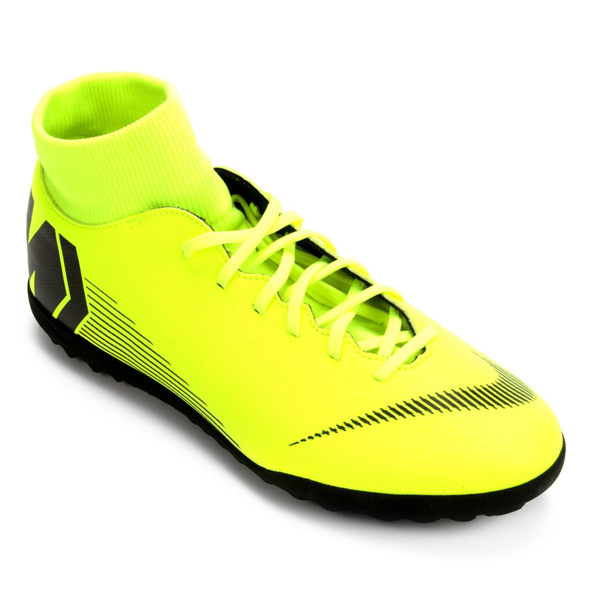 0f7ef6c49ca17 Chuteira Society Nike Mercurial Superfly 6 Club - Amarelo e Preto | Loja do  Inter