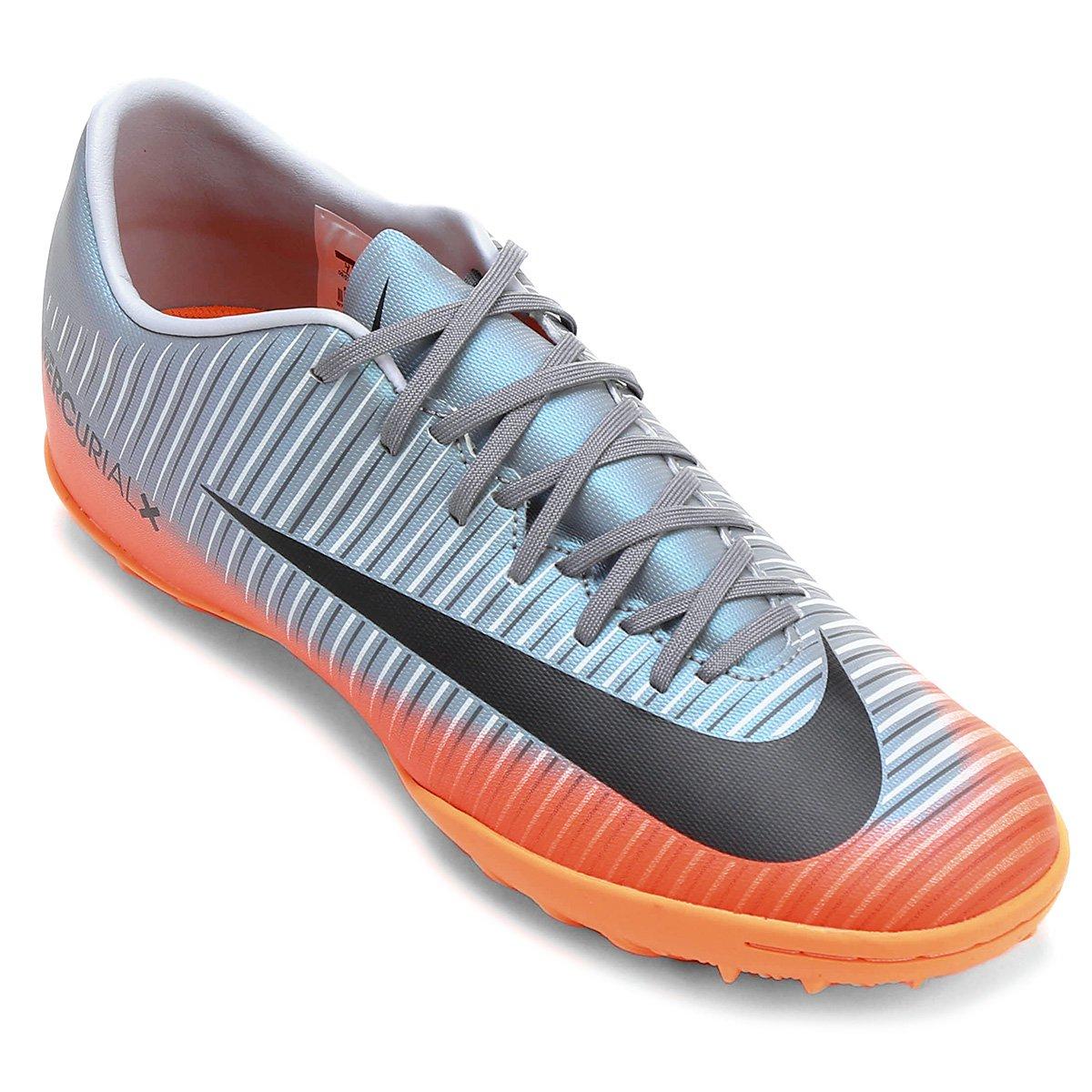 b12a2fa5ffd2a Chuteira Society Nike Mercurial X Victory 6 CR7 TF - Compre Agora ...