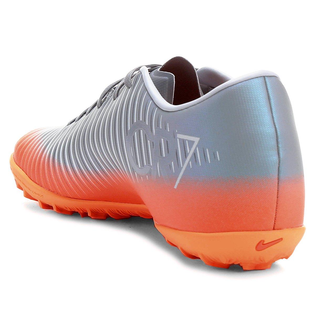 Chuteira Society Nike Mercurial X Victory 6 CR7 TF - Compre Agora ... d1e529dd61fc8