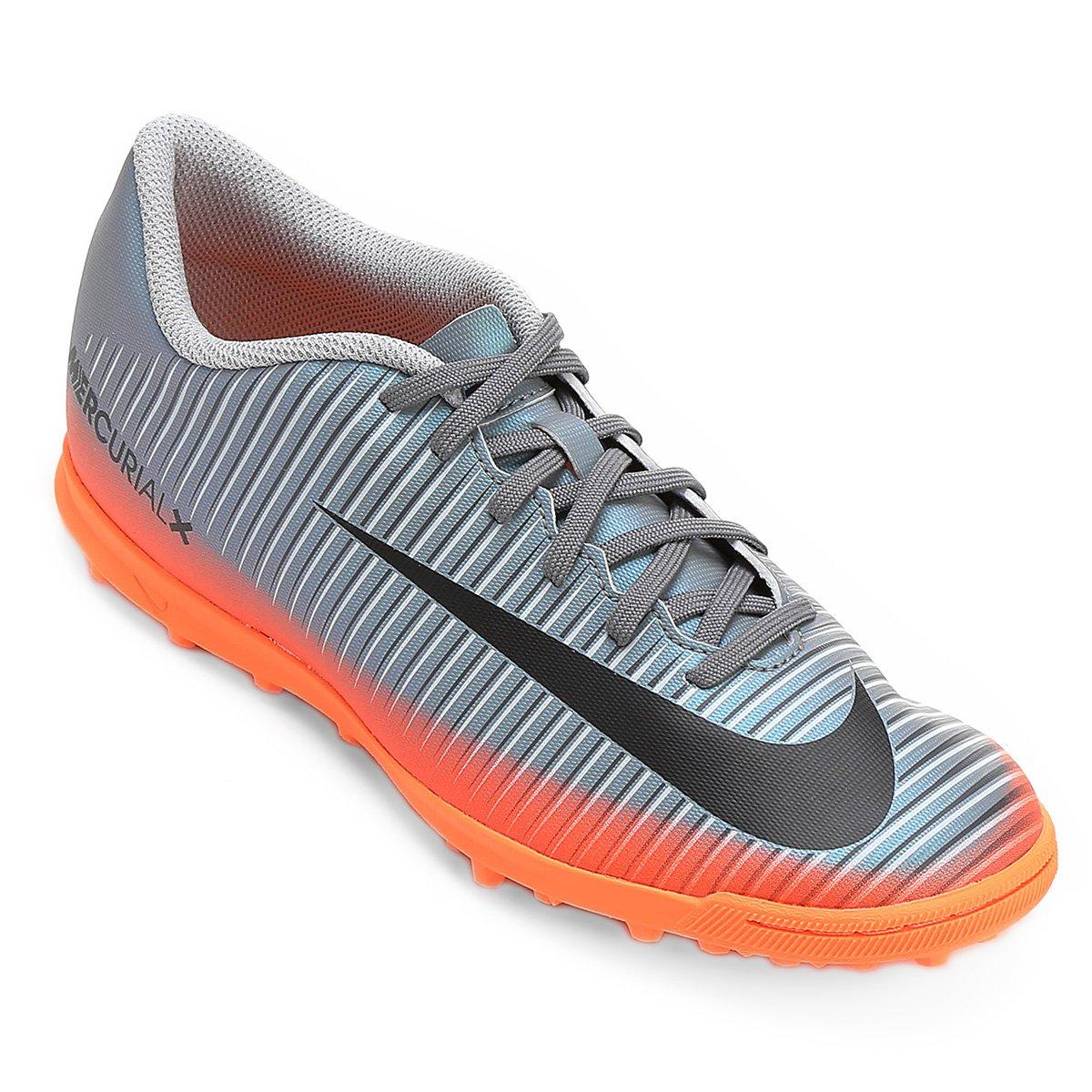 Chuteira Society Nike Mercurial X Vortex 3 CR7 TF - Compre Agora ... 99307c1d4fabe