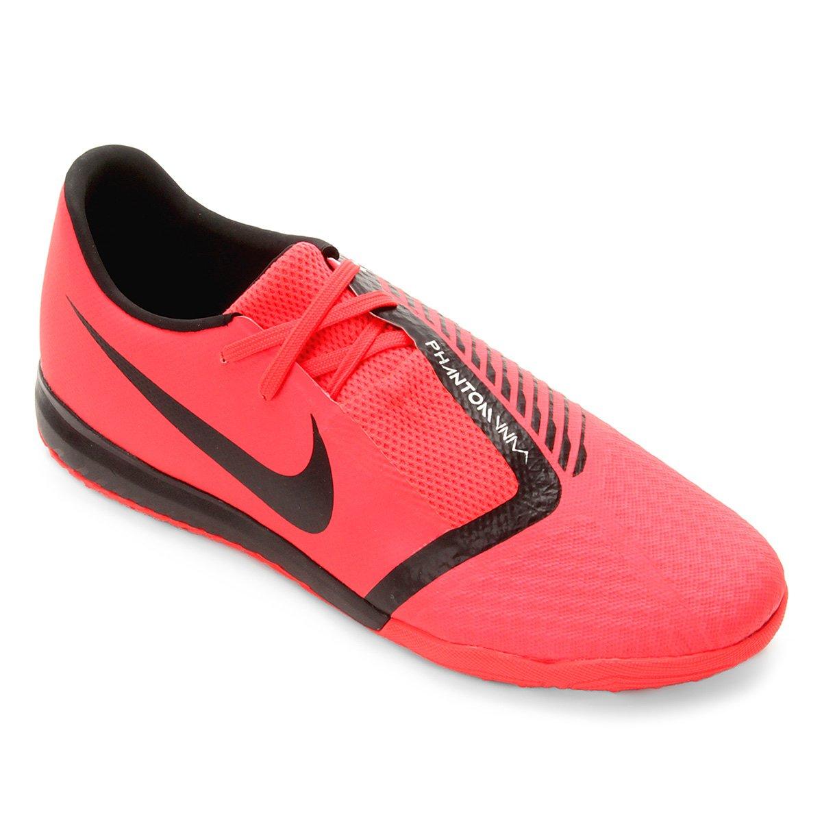 Chuteira Society Nike Phantom Venom Academy TF - Vermelho e Preto - Compre  Agora  656356a0bdc
