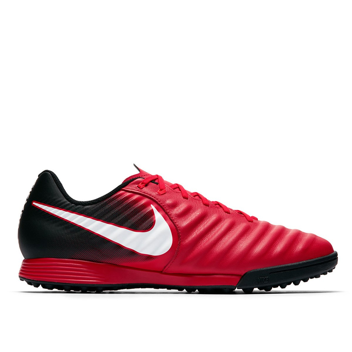 acc637b4b4 Chuteira Society Nike Tiempo Ligera 4 TF - Vermelho e Branco