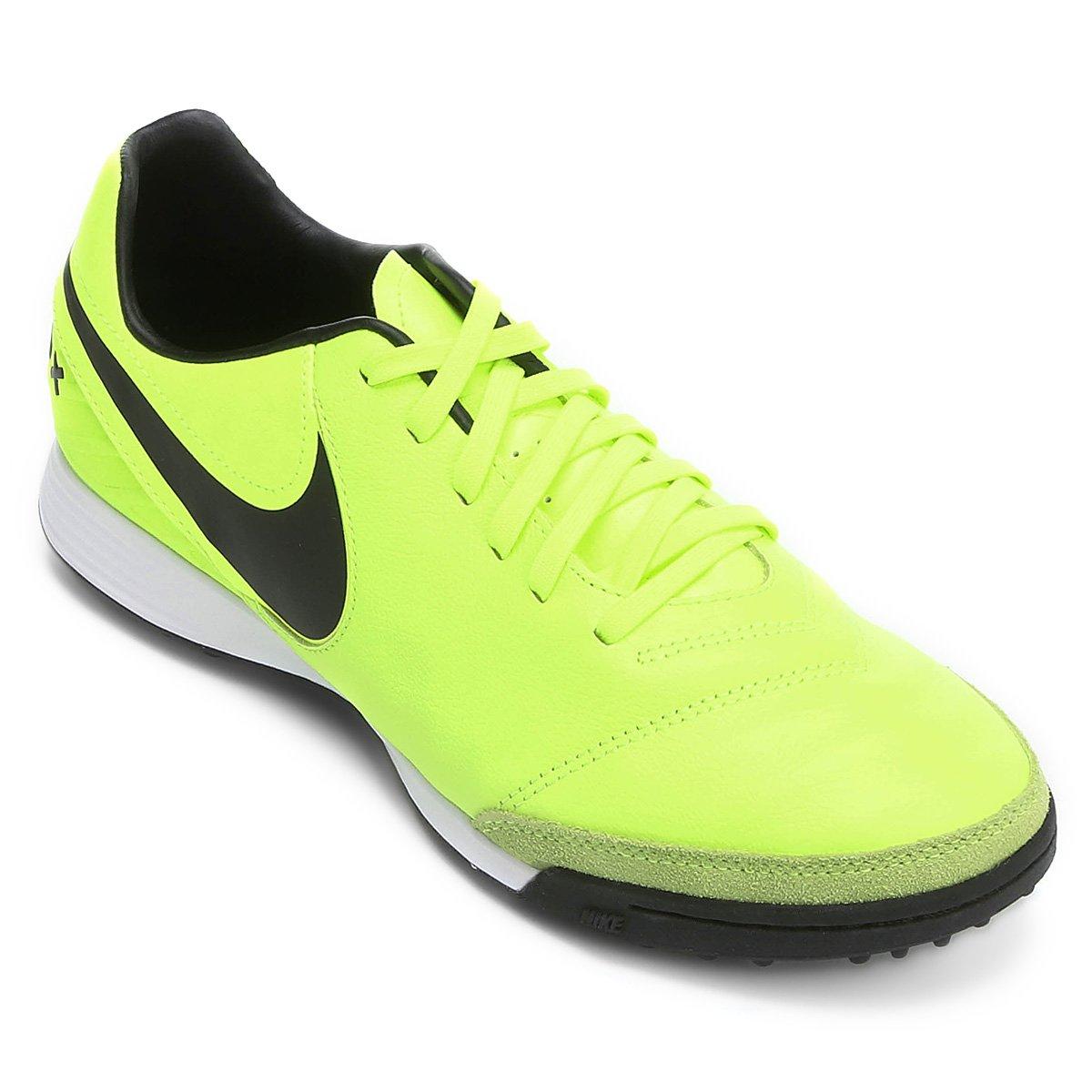 b05e5ac99d Chuteira Society Nike Tiempo Mystic 5 TF - Verde claro - Compre ...
