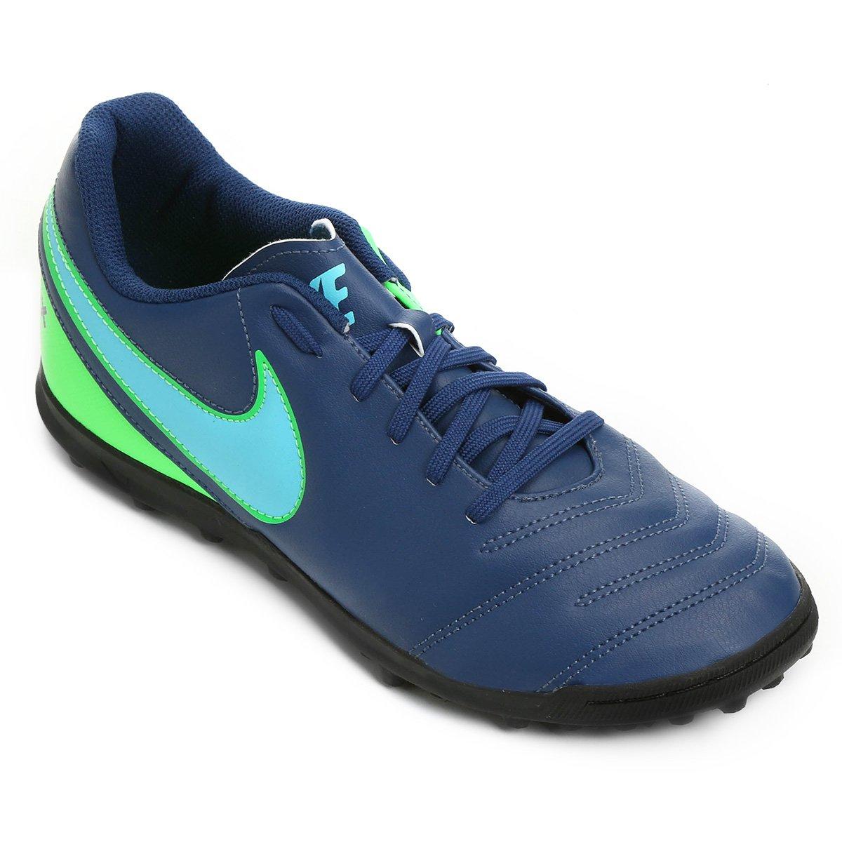 Chuteira Society Nike Tiempo Rio 3 TF - Compre Agora  aefc69e518d12