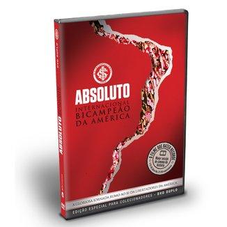 DVD Absoluto Internacional Bicampeão da América - Edição Para Colecionador - DVD Duplo