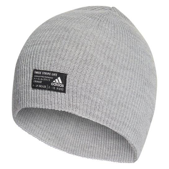 Gorro Adidas Perf - Cinza+Preto