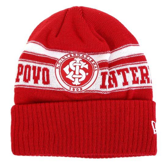 Gorro Internacional New Era Team Coler - Vermelho+Branco
