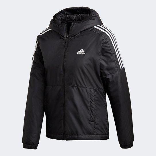 Jaqueta Adidas Essentials Insulated Hooded Feminina - Preto