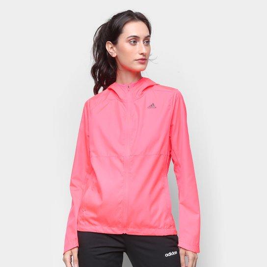 Jaqueta Adidas Own The Run Feminina - Rosa